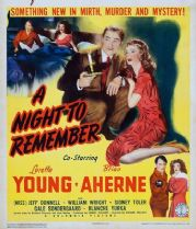 A Night to Remember 1942 DVD - Loretta Young / Brian Aherne